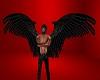 Black angel anim wings
