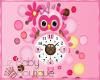 BABY OWL CLOCK