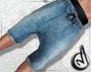 CM|Shorts/Denim/BlueL