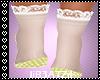 B! Yellow Kawaii Shoes v