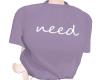 need purple T