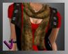 [ves]Vest w/ scarf