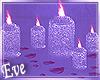 ♣J'Adore Floor Candles