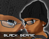 [LF] Black Beanie [M]