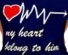 Belongs To Him Tee L
