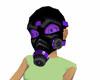 Indigo Gas Mask
