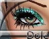 <Dole>GlitterLashesTeal