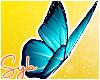 Blue Butterflies x