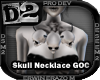 [D2] Skull Necklace GOC