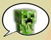 Minecraft Creeper Bubble