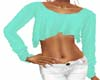 Limegreen Crop Sweater