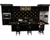 Black & Gold Kitchen