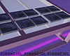 Pink Glass+Money Table