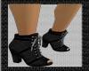 Black & Gray short boots