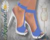 RVN♥ Eilis Blue Shoes