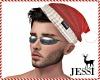 J~Holiday hair +hat