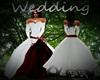 Wedding DressesRed/White