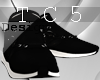 Black sporty shoes