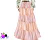 Boho skirt pink