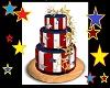 stars n stripes cake