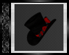 Black Hat w/Bow an Roses