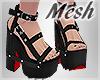 *S Gothic Sandals