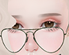 Blackrimmed glasses