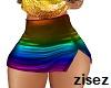 !z!Pride mini skirt RL