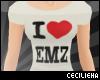 ! I Heart Emz - Tee [F]