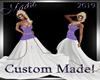 !b NY Custom Bride Dress