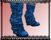 *SD* Blue Legwarmer Boot
