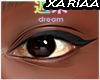 X<3 Brown Mesh Eyes