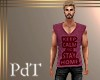 PdT Keep Calm Red Tee M