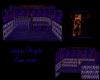 simple purple emo room