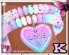 *K Sugar Bracelet R