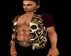 PHV Pirate Medallion Top