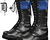 D+. Combat Boots BLU