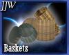 Wicker Baskets Derivable