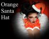 Orange Santa Hat
