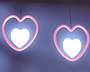 Heart Celing Lights