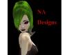 (NA) Green Liye Hair