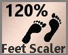 Feet Scaler 120% F