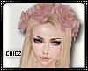 Cz!PinK Rose Crown