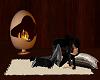 Fireside cuddle rug