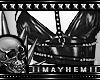Goth Black Metal Harness