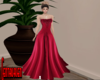 Red Leather Gown