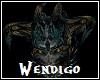 Wendigo Head Horns