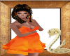Dutch Orange Dress 00
