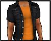 Orange and Black Shirt