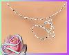 """""""V"""" Diamond Necklace"""